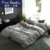 四件套全棉纯棉1.8m米床上用品床单被套简约被罩欧式欧美风水洗棉