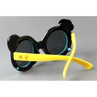 儿童小黄人可翻盖偏光太阳镜防紫外线男童太阳眼镜潮女童墨镜