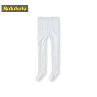 【4折到手价:19.6】巴拉巴拉女童袜子春季新款长筒袜儿童打底袜弹力小女孩外穿连裤袜
