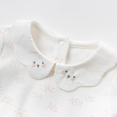 davebella戴维贝拉2020春季新款女童T恤宝宝打底上衣DBM12827