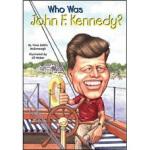 WHO WAS JOHN F KENNEDY 进口故事书,Yona Zeldis McDonough(约纳・Z・麦克唐