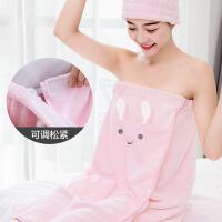 立体卡通浴巾大毛巾成人可穿式浴裙男女吸水速干不掉毛裹巾