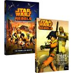 英文原版 Star Wars Rebels 星球大战义军崛起 2册 迪士尼经典动画 儿童章节小说读物