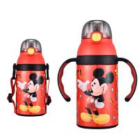 儿童保温杯带吸管水杯幼儿园宝宝防摔水壶小学生两用吸管杯