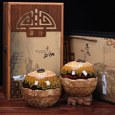 2019新茶武夷山正山小种 红茶 桐木关茶叶古雅木纹礼盒装茶叶