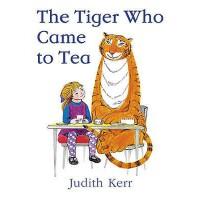 The Tiger Who Came to Tea 英文原版儿童书 老虎来喝下午茶