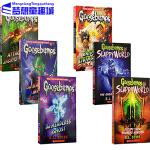 经典鸡皮疙瘩系列 英文原版 Goosebumps 6册合售 儿童惊悚课外小说 R. L. Stine