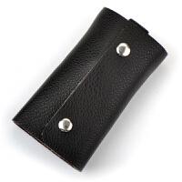 2015新款多功能挂扣真皮卡包零钱包 男女通用 钥匙包 汽车钥匙包