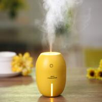 创意柠檬加湿器usb迷你家用静音办公室桌面学生宿舍个性车载喷雾