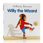 进口英文原版绘本 Willy the Wizard 安东尼布朗经典作品 平装 Anthony Browne