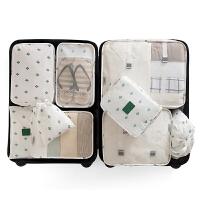 旅行收纳袋洗漱包衣服内衣旅游防水分装便携套装行李箱分类整理包