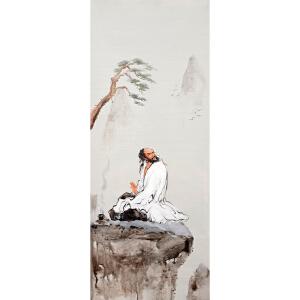 Y153  郑美明 《原创人物达摩》
