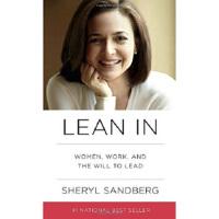 【二手书8成新】英文原版 Lean In 向前一步 Facebook谢丽尔 女性励志人物 外文