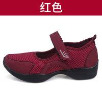 妈妈鞋中老年奶奶广场跳舞鞋春夏软底滑透气老北京布鞋女