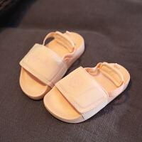 女童休闲凉鞋夏季运动凉鞋两穿凉拖鞋1-7岁男宝宝沙滩鞋