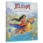 艾莲娜公主 英文原版绘本 Elena and the Secret of Avalor 精装 迪士尼电影原著绘本 儿童