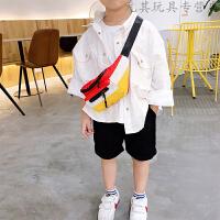 儿童斜挎包男童挎包女童腰包宝宝包包小孩单肩包韩版胸包零钱包潮