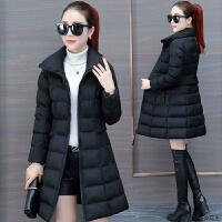 中长款棉衣女装2018冬季新款修身加厚工装棉袄子韩版羽绒外套