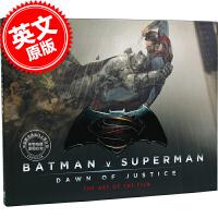 现货 英文原版 Batman V Superman 蝙蝠侠大战超人电影艺术设定