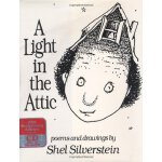 A Light in the Attic 20th Anniversary Edition Book & CD 谢尔・希尔弗斯坦经典绘本:阁楼上的灯光(20周年纪念版,含CD) ISBN9780066236179