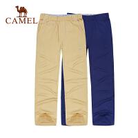 骆驼童装 春夏儿童休闲长裤青少男童女童纯棉中腰裤子