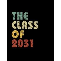 【预订】The Class of 2031: Vintage Composition Notebook For Note