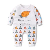 婴儿连体衣幼儿秋装宝宝爬服长袖3-6个月新生儿衣服春装