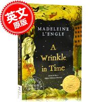 预售 时间的皱折 褶皱 皱纹 英文原版 A Wrinkle in Time 梅格时空大冒险 第一部 奇幻时空历险 Ma