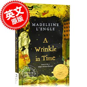 现货 时间的皱折 褶皱 皱纹 英文原版 A Wrinkle in Time 梅格时空大冒险 第一部 奇幻时空历险 Madeleine L'Engle 时间的五重奏 1