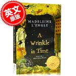 现货 时间的皱折 褶皱 皱纹 英文原版 A Wrinkle in Time 梅格时空大冒险 Madeleine L'E