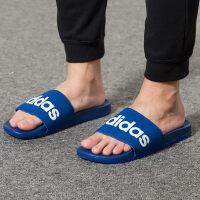Adidas阿迪达斯 男鞋 运动沙滩拖鞋休闲凉拖鞋 B42208