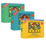 Bob Books Set 1-3 鲍勃启蒙阅读 儿童字母表 词汇 初级阅读 英文原版绘本 Alphabet Begi
