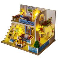 小屋玩具创意女男生日礼物小屋diy手工制作房子动手拼装模型