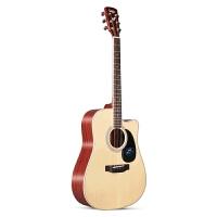 41寸学生男女单板民谣面单电箱初学者木吉他 SA700C 复古色 原声款 40寸