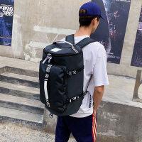 短途旅行包手提男运动包训练包健身包双肩包旅游包大容量行李袋潮
