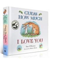 [现货]英文原版Guess How Much I Love You猜猜我有多爱你 亲子朗读暖心读本 作家吴敏兰 廖彩杏