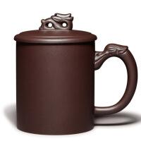 紫砂杯茶杯宜�d紫砂�全手工茶具�p��倒立杯定制刻字�k公���w