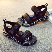 男童凉鞋夏季儿童凉鞋男中大童软底男孩沙滩鞋