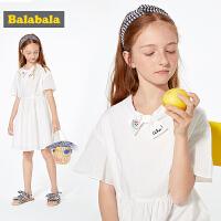 巴拉巴拉童装超洋气女童 公主裙儿童连衣裙夏2019新款中大童裙子