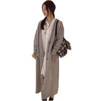 慈颜CIYAN孕妇装韩版秋冬韩版长款加厚大码宽松毛衣女装WXM23