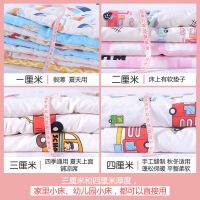 定做儿童床垫幼儿园床垫被加厚褥子全棉花床褥全棉婴儿卡通垫可洗定制 180*100 大童床
