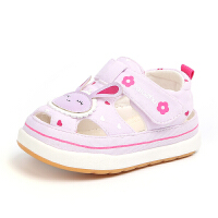 夏季儿童机能凉鞋女宝宝公主鞋子婴儿软底学步鞋小童