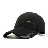 帽子男士 春夏天鸭舌帽潮加长帽檐棒球帽遮阳防晒女士钓鱼运动帽