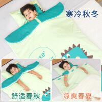 幼儿小孩被子 婴儿睡袋儿童春秋冬季冬款厚宝宝中大童被