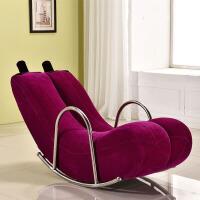 创意单人懒人沙发香蕉躺椅摇椅摇摇椅个性可爱卧室现代小户型沙发