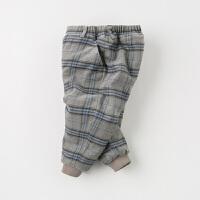 【夹棉】davebella戴维贝拉童装冬季新款男童宝宝加厚棉裤DB12318