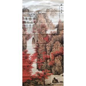 温建波 北派山水画杰出代表 经典山水