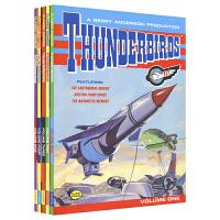 Thunderbirds 雷鸟神机队 雷鸟特工队动画 连环画漫画书5册套装 儿童英语救援英雄故事 英文原版书进口