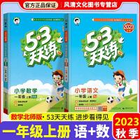 53天天练一年级下册语文数学2本人教版2020春人教版部编版