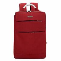 商务背包男士双肩背包韩版潮流体闲包男女旅行包书包简约电脑包出差、手提包